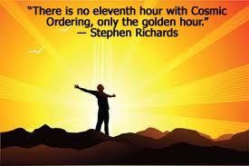 Stephen richards cosmic ordering review