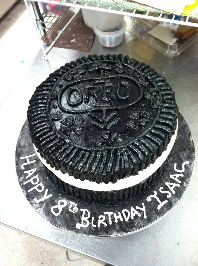 Cake Decorating Ideas With Oreos : oreo cake cake decorating ideas Pinterest