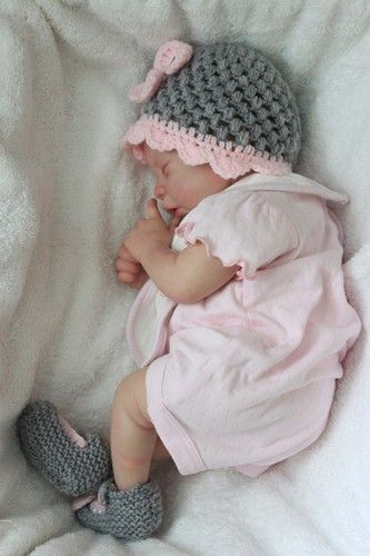 Reborn lifelike newborn baby girl doll dolly ebay