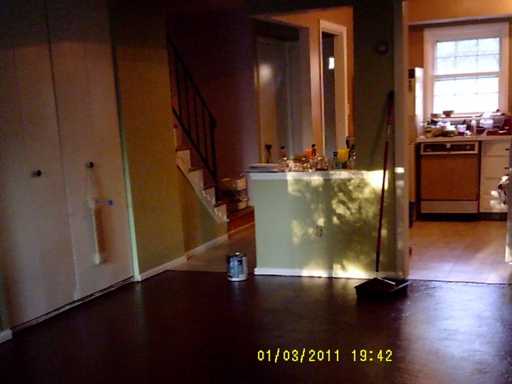 My Living Room Floor Painted Concrete For The Home Pinterest