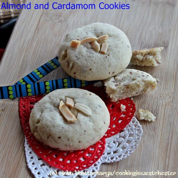 delicate cardamom scented almond shortbread cookie, perfect for the ...