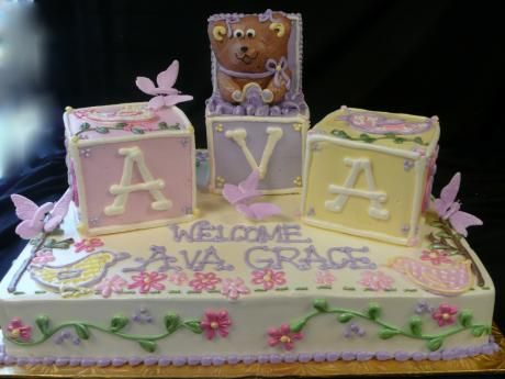 Cakes Baby Showers