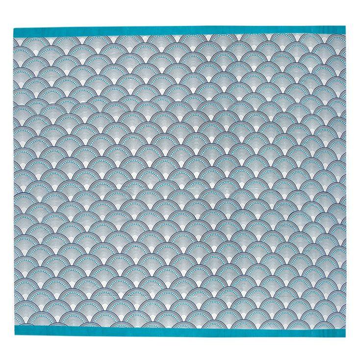Jonathan Adler Fishscales Shower Curtain