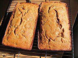 Dark Chocolate Peanut Butter Banana Bread- Whole Wheat   Yum Yum in my ...