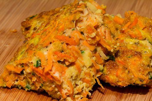 : Sweet Potato Quiche Zucchini - 1 (shredded) Carrots - 2 (shredded ...