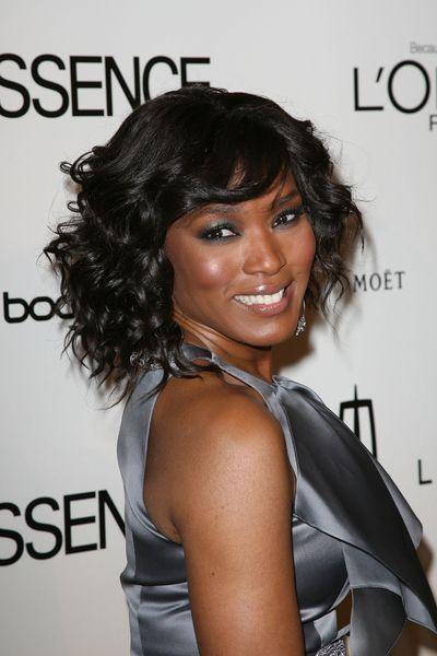 Angela Bassett Hair Styles