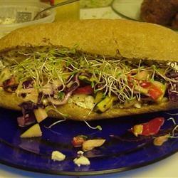 California Grilled Veggie Sandwich Allrecipes.com