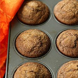 Whole Wheat Pumpkin Spice Latte Muffins from Cookin' Canuck