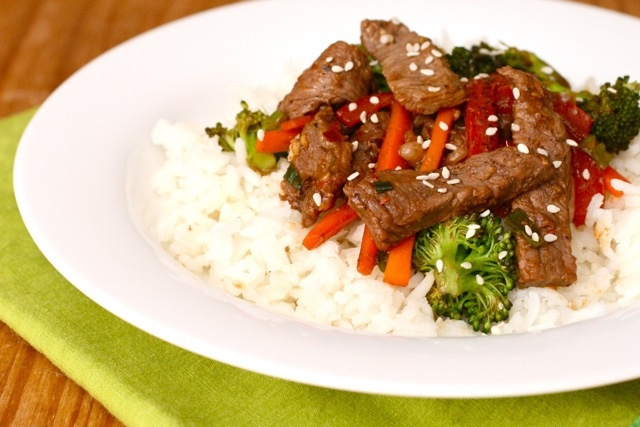 Ginger Beef Stir Fry | Annie's Eats | Recipes & Food | Pinterest