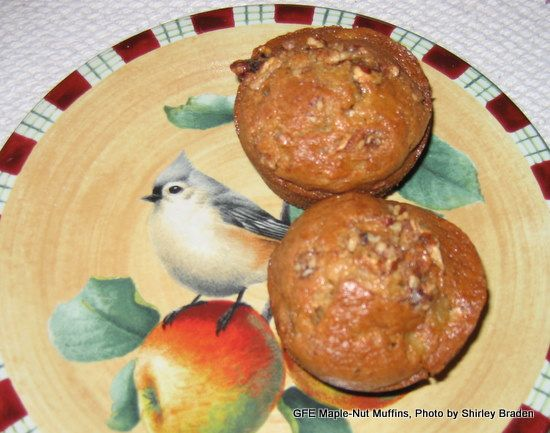 Gluten Free Banana Maple Nut Muffins- yum. They are in the oven right ...