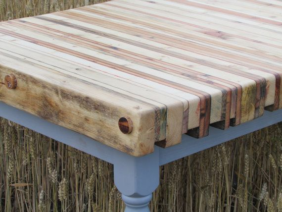 Reclaimed Pallet Wood Dining Table By OhBotherDesign On Etsy