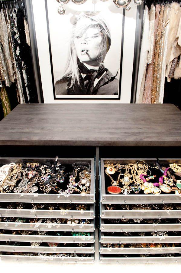 Jewelry Closet...Oh my! I need this! :)
