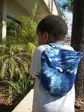 CreativeMe: My Son's Bookbag *Pattern*   Crochet   Pinterest