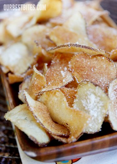 Homemade Potato Chips | Potato chip my weakness | Pinterest