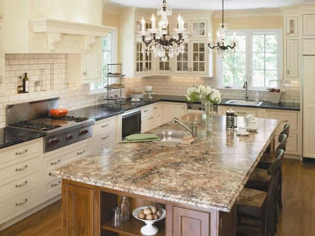 -Todays laminate countertops can mimic the look of pricey stone ...