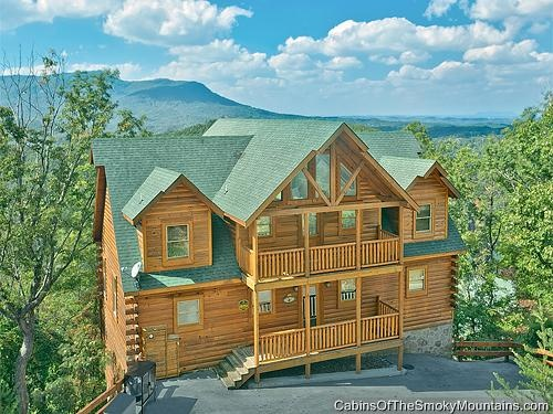 pigeon forge cabin thunder mountain 7 bedroom family reunion