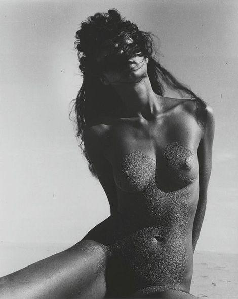 Nude On Beach (1940) by Swiss born photographer and graphic designer,  Herbert Matter (1907 – 1984).