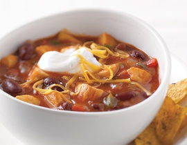 Quick Chicken Chili   food to try   Pinterest
