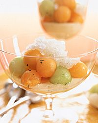... Granita and Citrus Yogurt - Healthy Fruit Desserts from Food & Wine
