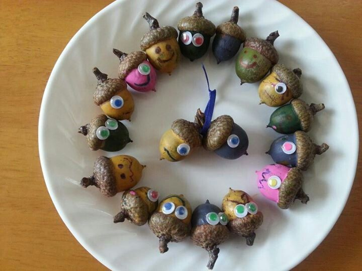 acorn craft acorn people pinterest