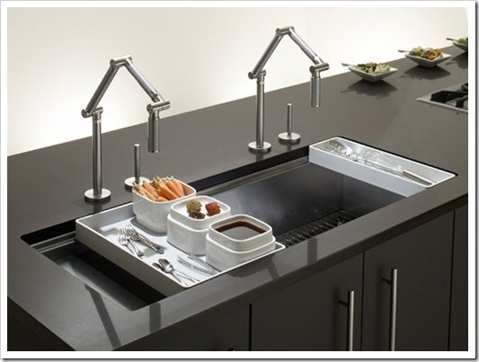 Luxury Kitchen Sinks : kitchen sinks Kohler Stages Kitchen Sink CFT411