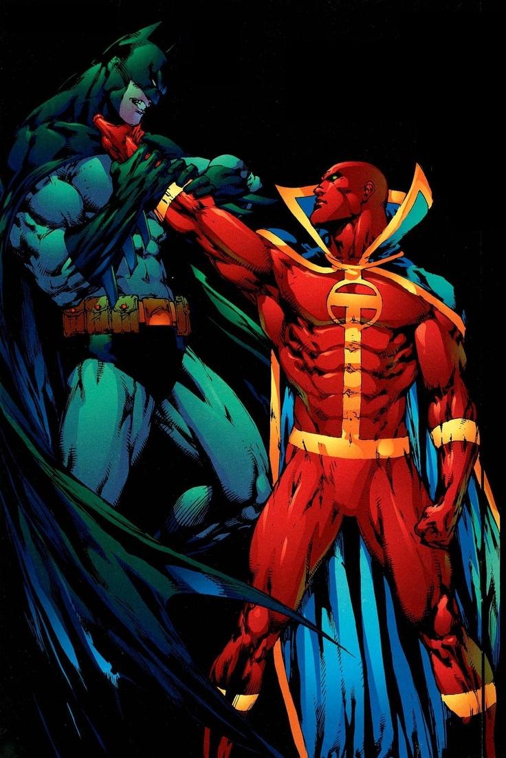 Red Tornado vs Batman | Fantastic Art | Pinterest