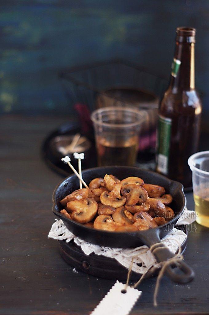 Mushroom Sriracha Stir Fry | Skillet Meals | Pinterest