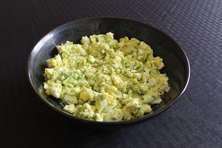 avocado egg salad | Yum! | Pinterest