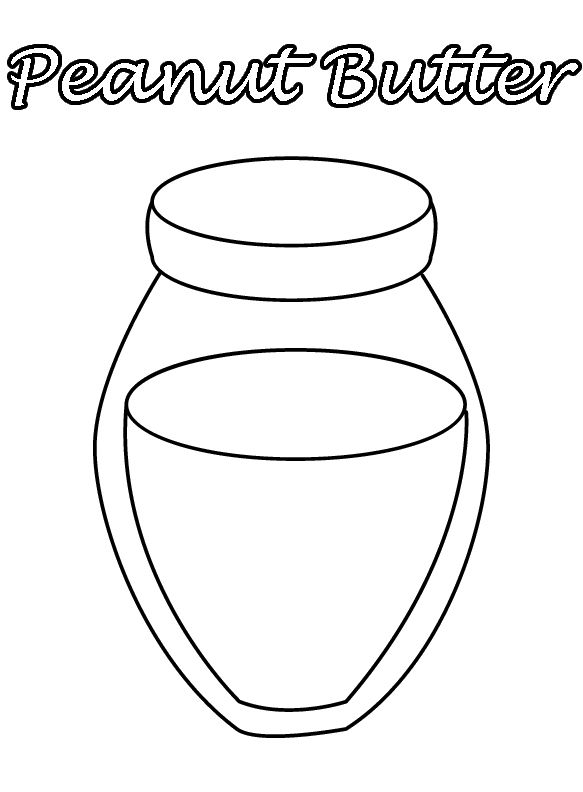 stick of butter pages coloring pages
