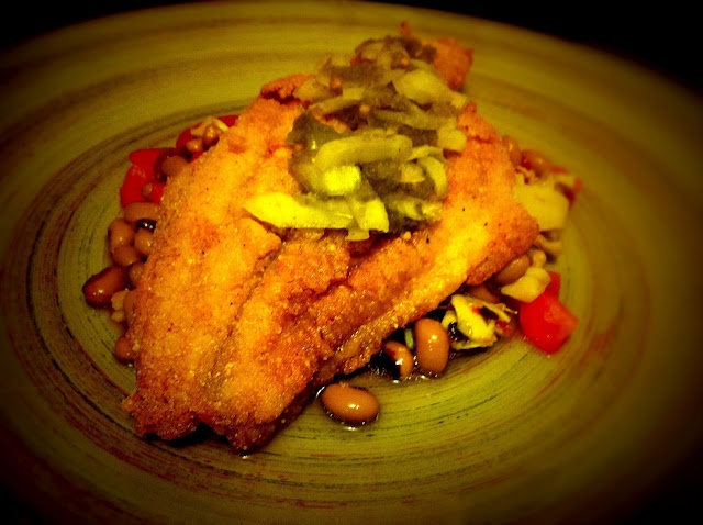 cornmeal fried catfish with remoulade recipes dishmaps cornmeal fried ...