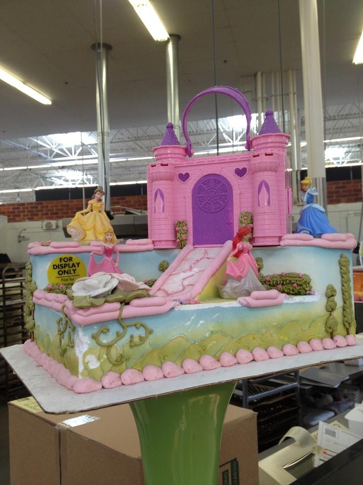 This princess birthday cake at heb birthday party ideas pinterest