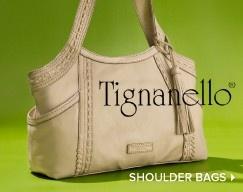 Tignanello Latest Lacing Shoulder Bag 107
