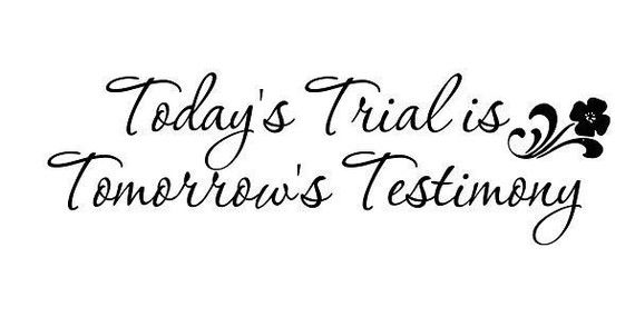 Image result for lds trials