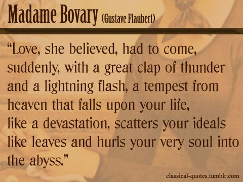 Critical quotations on emma bovary