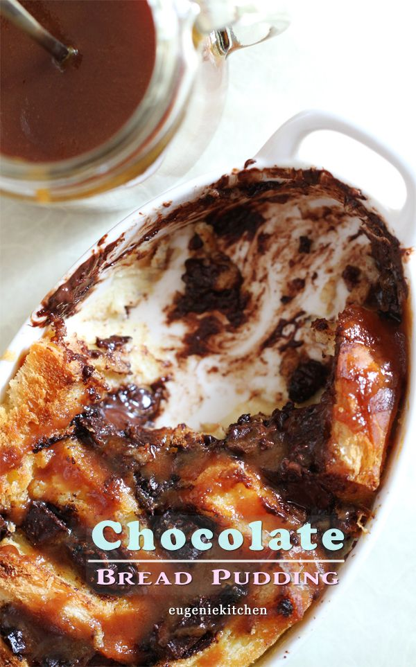 Chocolate Cinnamon Bread Pudding Recipe | Recipes To Try | Pinterest