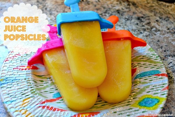 Make Your Own Juice Popsicles Recipe — Dishmaps
