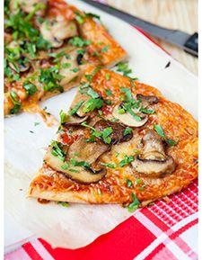 Tortilla Pizza | Too Bad Eating isn't Considered a Talent | Pinterest