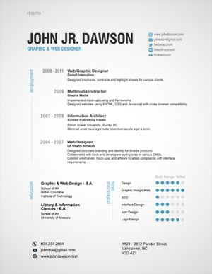 i will spice up your resume for charity design
