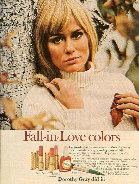 Lauren Hutton Dorothy Gray Cosmetics Vintage