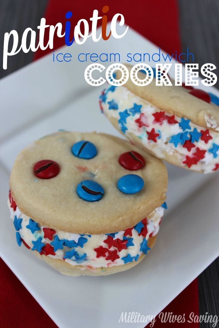 Ice cream sandwich cookies | Tis the season! | Pinterest