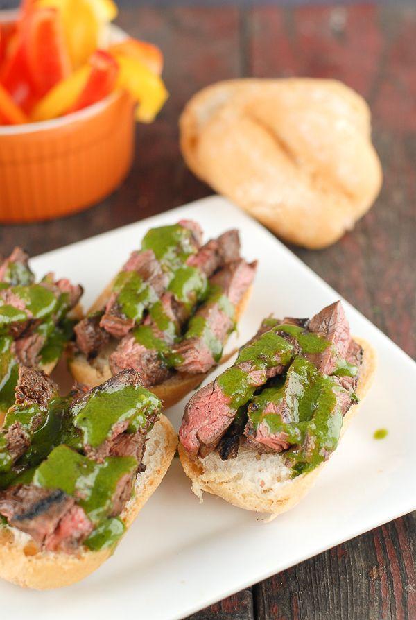 ... steak with peach tomato salsa hanger steak with herb nut salsa grilled