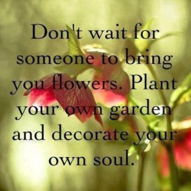 Create your own flower garden Smiles Pinterest