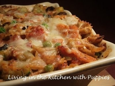 Baked Pasta with Roasted Vegetables | Favorite Recipes | Pinterest