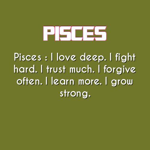 Strong Pisces Quotes Managementdynamics Impressive Pisces Quotes