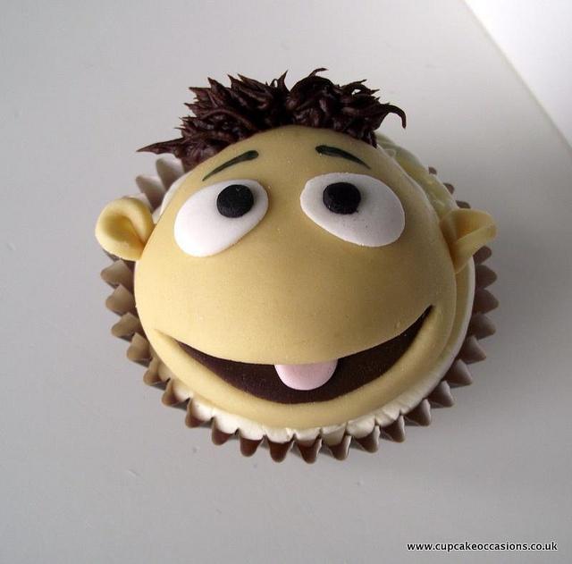 Muppet Walter Cupcake