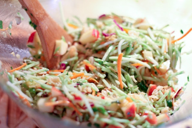 ... for a new twist on your typical coleslaw? Why not try Broccoli Slaw