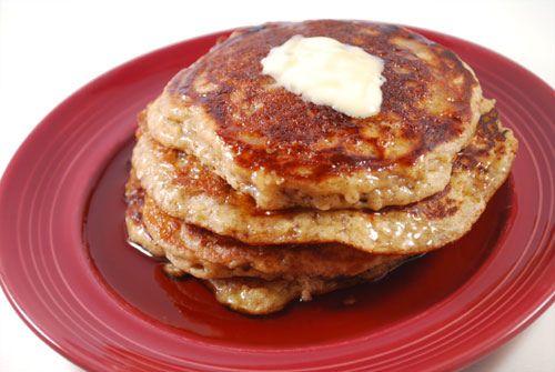 Rachel Ray's Oatmeal Cookie Pancakes...My friend loved them