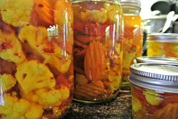 Pickled Cauliflower | queen jarrell | Queen Jarrell Blogs | Pinterest