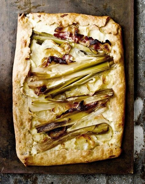LEEK AND POTATO GALETTE | Eat This | Pinterest