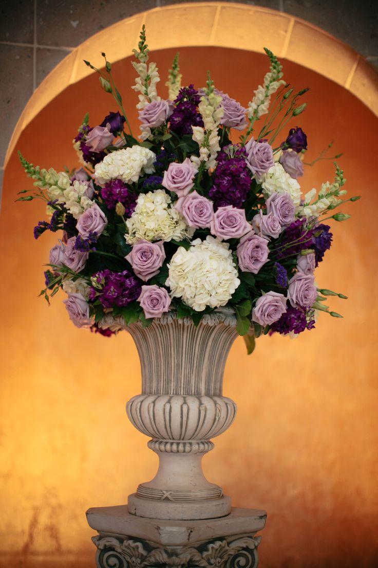 Purple Theme Altar Flowers Pinterest